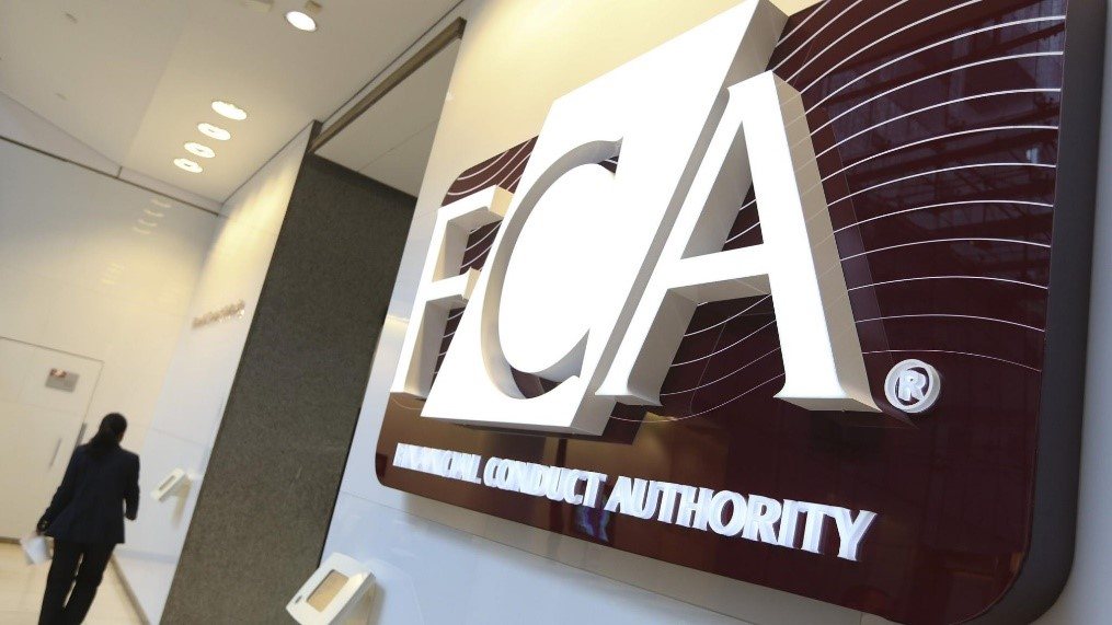 Sign with FCA logo