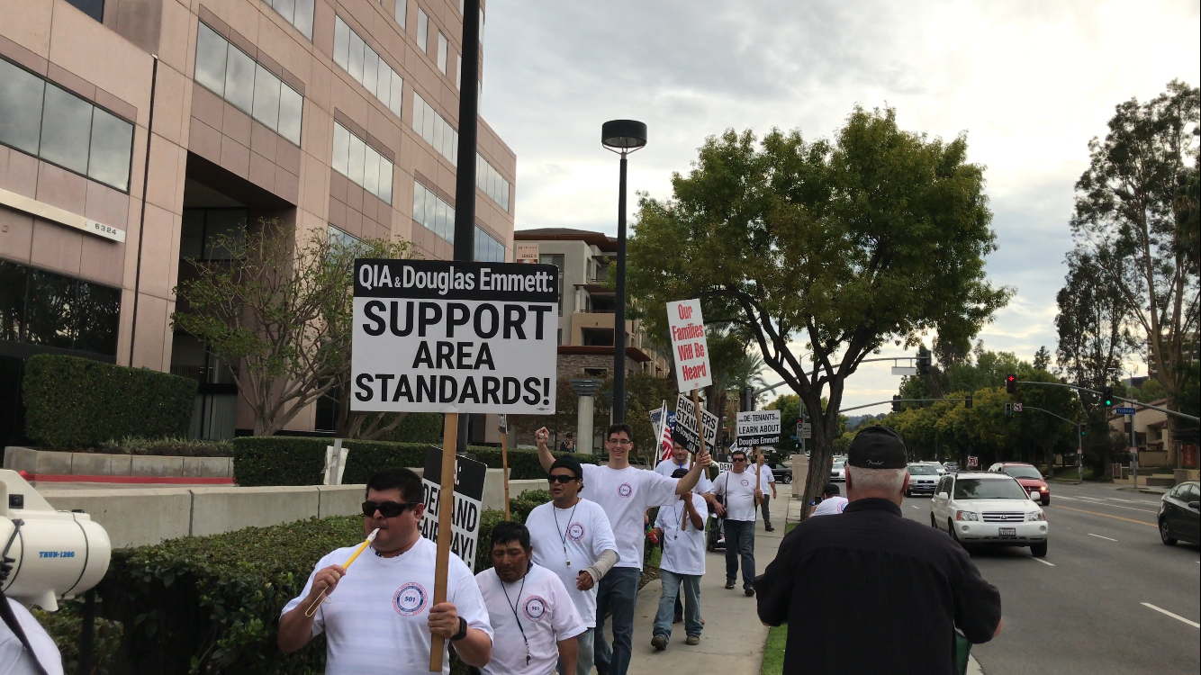 Image of Demonstration at Trillium Towers, Woodland Hills